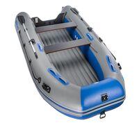 ПВХ лодка модели Air Classic идеально подходит для всех видов рыбалки. Лодка оснащена надувным килем...