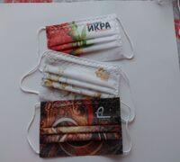 Изготавливаю сварные одноразовые санитарно-гигиенические маски из спанбонда с полноцветной печатью
