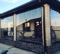 Гибкие (мягкие) окна для беседок, террас и веранд из материалов ПВХ. Гибкие окна служат защитными шт...