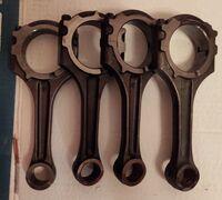Шатуны для Mazda CX-7, MPS, CX7, 2,3 turbo, L3VDT, L3K9. Б/у в отличном состоянии. Комплект Отправк...