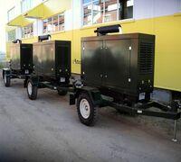 Услуги дизельных электростанций мощностью от 30 до 400 кВт. Доставка по городу. Мобильные и станцион...