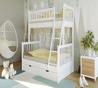 Двухъярусная кровать «Барселона» - это простота и надёжность конструкции, которая приятно удивит це...