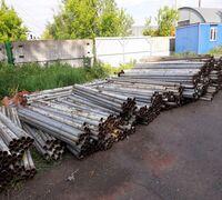 Бу трубы для столбов и металлоконструкций 60/4,5мм